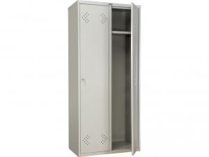 Шкаф металлический для одежды ПРАКТИК LS(LE)-21-80 купить на выгодных условиях в Воронеже