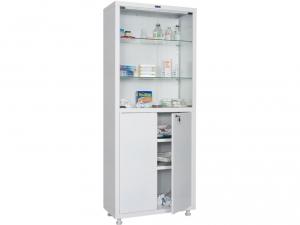 Металлический шкаф медицинский HILFE MD 2 1670/SG купить на выгодных условиях в Воронеже