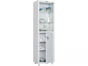 Металлический шкаф медицинский HILFE MD 1 1657/SG купить на выгодных условиях в Воронеже