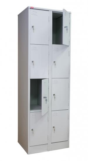 Шкаф металлический для сумок ШРМ - 28 купить на выгодных условиях в Воронеже