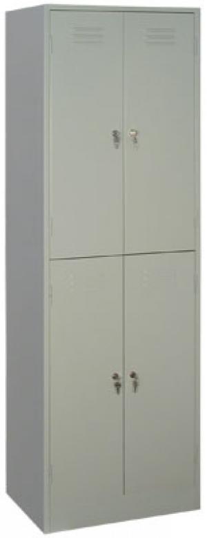 Шкаф металлический для одежды ШРМ - 24 купить на выгодных условиях в Воронеже