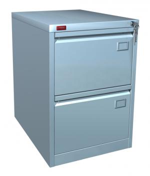 Шкаф металлический картотечный КР - 2 купить на выгодных условиях в Воронеже