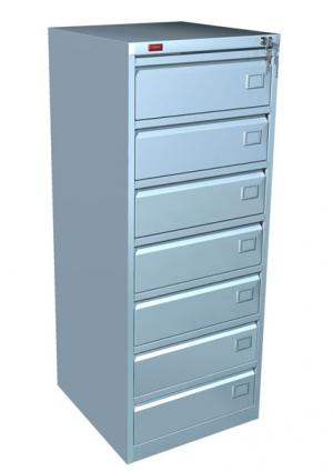 Шкаф металлический картотечный КР - 7 купить на выгодных условиях в Воронеже