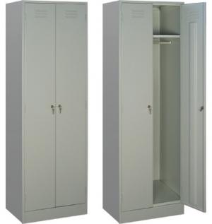 Шкаф металлический для одежды ШРМ - 22 купить на выгодных условиях в Воронеже