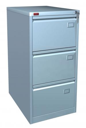 Шкаф металлический картотечный КР - 3 купить на выгодных условиях в Воронеже