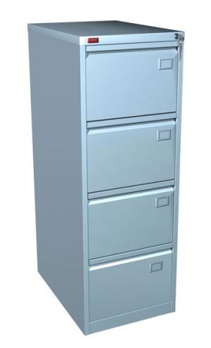 Шкаф металлический картотечный КР - 4 купить на выгодных условиях в Воронеже