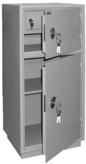 Шкаф металлический для хранения документов КБ - 042т / КБС - 042т купить на выгодных условиях в Воронеже