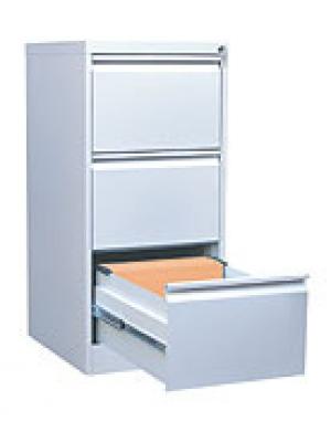 Шкаф металлический картотечный ШК-3 (3 замка) купить на выгодных условиях в Воронеже