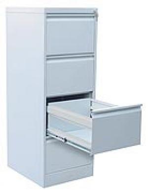 Шкаф металлический картотечный ШК-4 (4 замка) купить на выгодных условиях в Воронеже