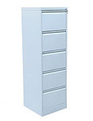 Шкаф металлический картотечный ШК-5 (5 замков) купить на выгодных условиях в Воронеже