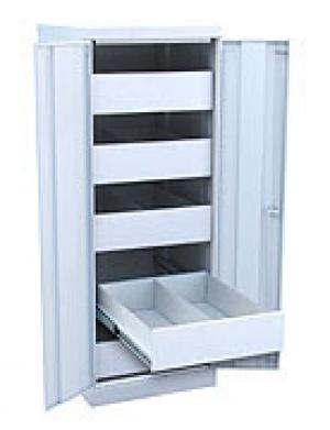 Шкаф металлический картотечный ШК-5-Д2 купить на выгодных условиях в Воронеже