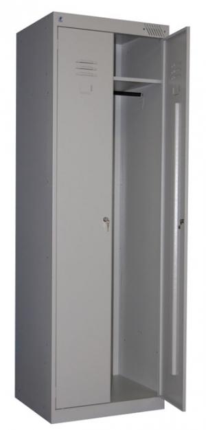 Шкаф металлический для одежды ШРК-22-600 купить на выгодных условиях в Воронеже