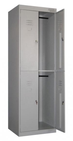 Шкаф металлический для одежды ШРK-24-600 купить на выгодных условиях в Воронеже