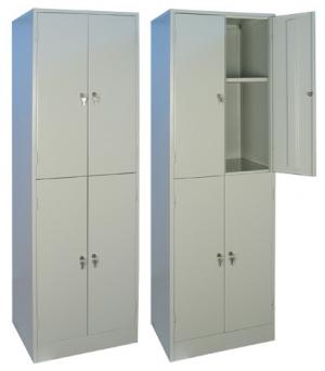 Шкаф металлический архивный ШРМ - 24.0 купить на выгодных условиях в Воронеже