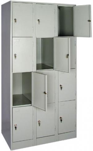 Шкаф металлический для сумок ШРМ - 312 купить на выгодных условиях в Воронеже