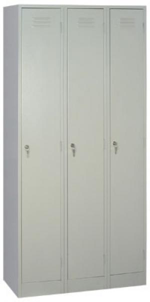 Шкаф металлический для одежды ШРМ - 33 купить на выгодных условиях в Воронеже