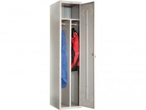 Шкаф металлический для одежды ПРАКТИК LS(LE)-11-40D