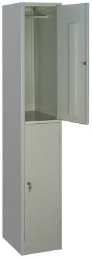 Шкаф металлический для одежды ШРМ - 12 купить на выгодных условиях в Воронеже