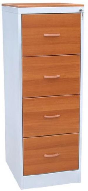 Шкаф металлический картотечный ШК-4 (ЛДСП)