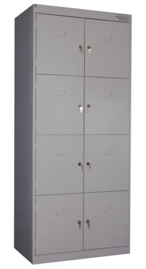 Шкаф металлический для сумок ШРК-28-600 купить на выгодных условиях в Воронеже